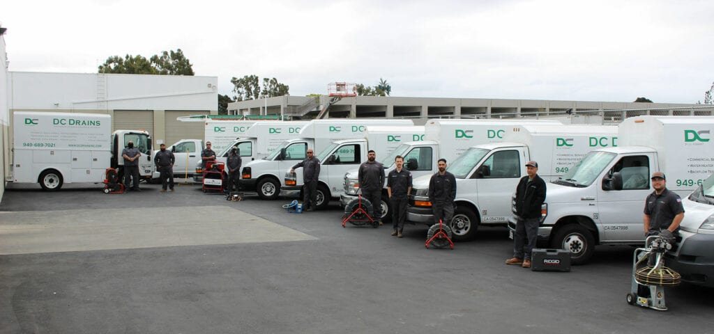 An image of the DC Drains fleet.